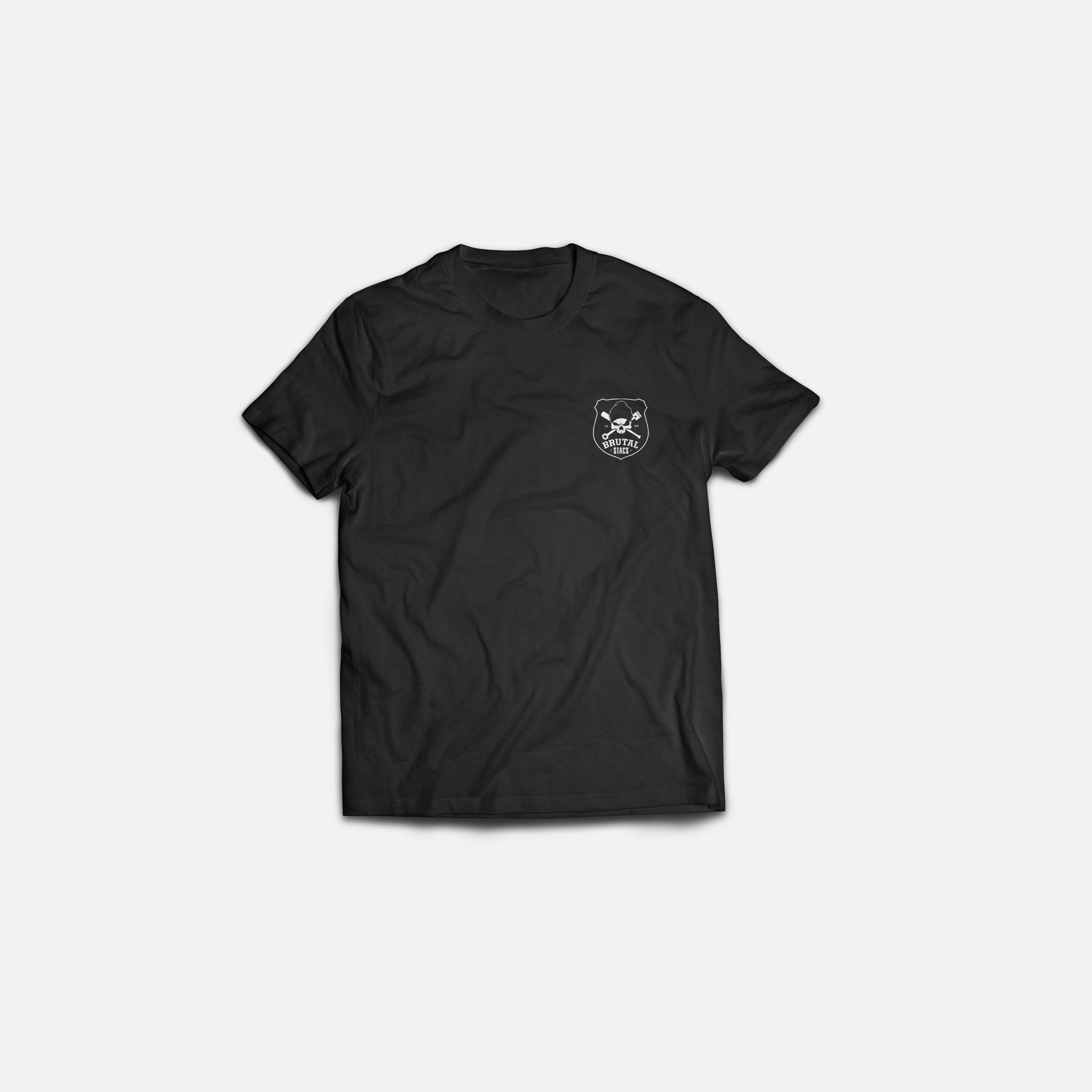 Tricou Negru 008