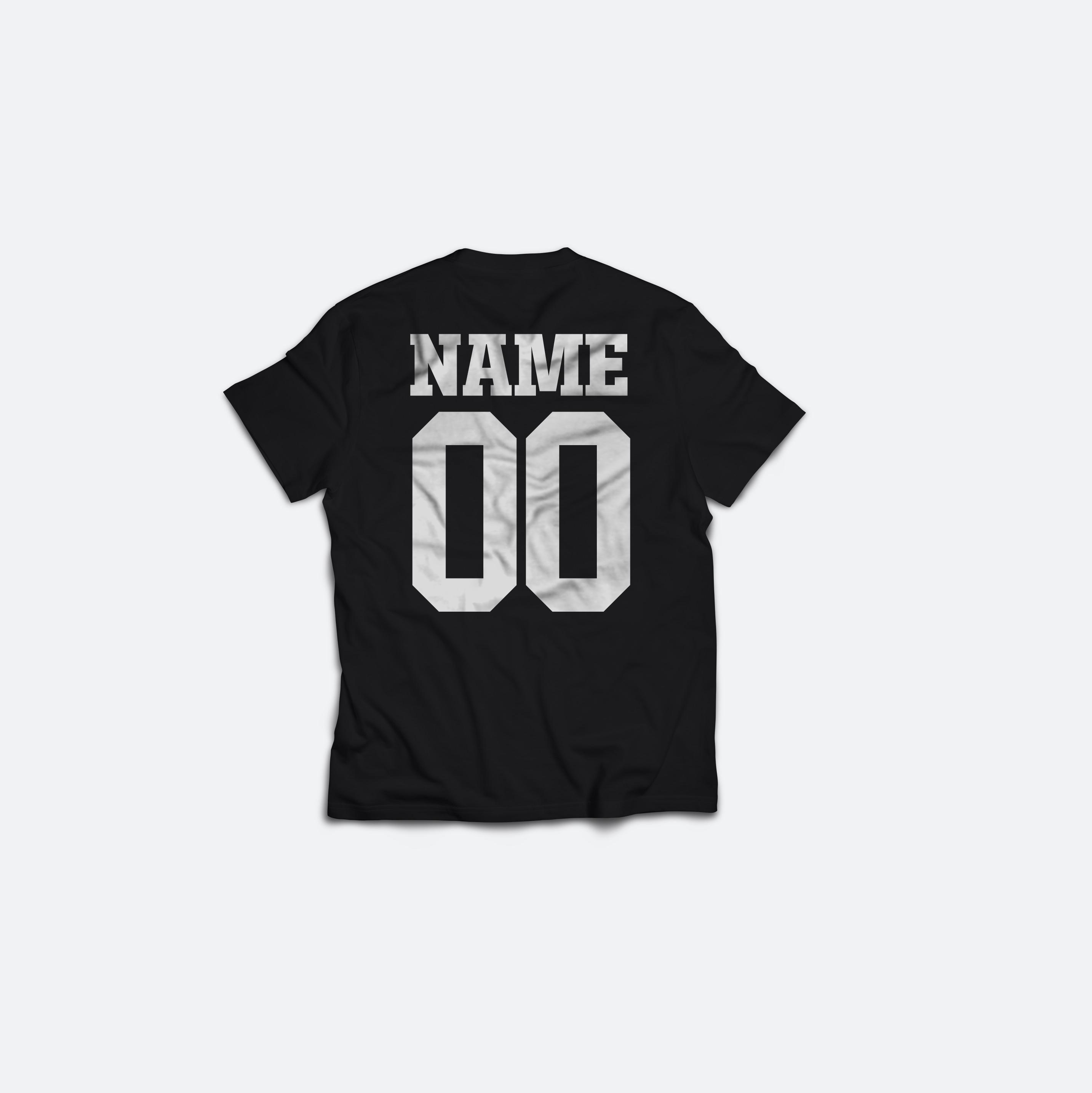Tricou Negru 001