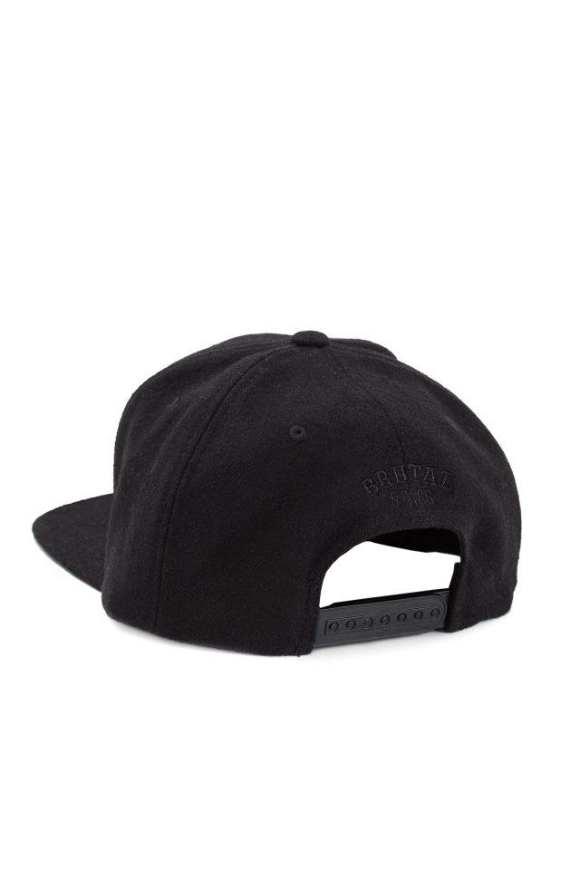 Black on Black Brutal Snapback